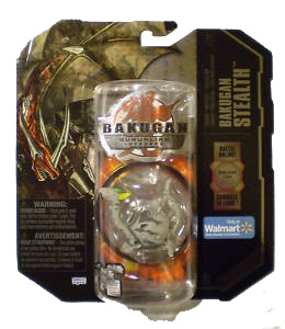 Bakugan Stealth - BakuGranite Haos(Grey) Dharak [Battle Gear Ready]