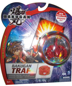 New Vestroia  Bakugan Trap - Pyrus(Red) Scorpion
