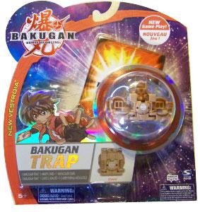 New Vestroia  Bakugan Trap - Subterra(Tan) Zoack