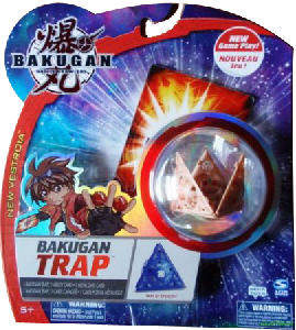 New Vestroia  Bakugan Trap - Subterra(Tan) Tripod Epsilon