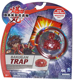 New Vestroia  Bakugan Trap - Pyrus(Red) Carlsnaut