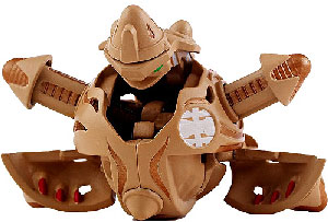 New Vestroia  Bakugan Trap - Subterra(Tan) Baliton