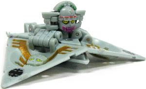 New Vestroia  Bakugan Trap - Haos(Grey) Triad El Condor