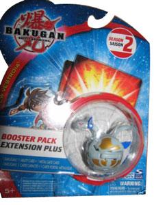 Bakugan New Vestroia Boosters - Haos(Grey) Motra