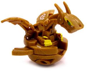 Bakugan New Vestroia Boosters - Subterra(Brown) Neo Dragonoid(Volta)