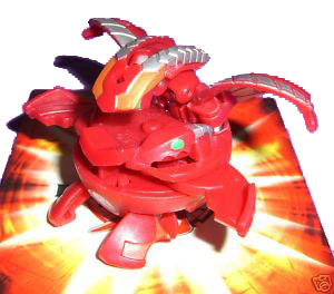 Bakugan New Vestroia Special Attack Booster - Pyrus(Red) Percival Vortex