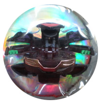 Bakugan New Vestroia Special Attack Booster - Darkus(Black) Infinity Dragonoid