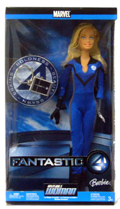 Barbie - Invisible Woman