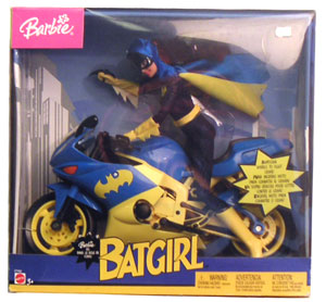 Barbie - Batgirl with Motorcycle