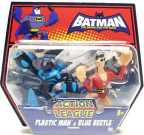 The Brave And The Bold - Plastic Man and Blue Beetle