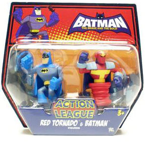 The Brave And The Bold - Red Tornado and Batman