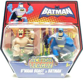 The Brave And The Bold - B Wana Beast and Batman