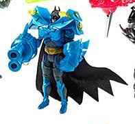 The Dark Knight - Deluxe Power Tek Batman Fusion Force