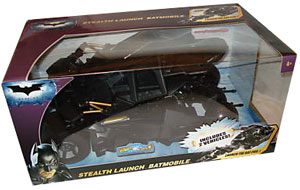 The Dark Knight - Stealth Launch Batmobile