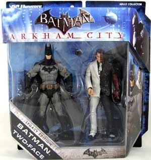 Batman Legacy - Arkham City Batman and Two-Face