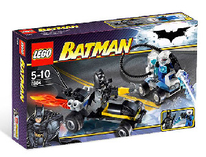 LEGO - Batman - Batman Buggy and Escape Of Mr Freeze[7884]