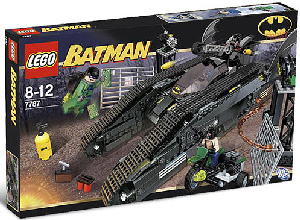 LEGO - Batman - Bat Tank with Riddler and Bane Hideout