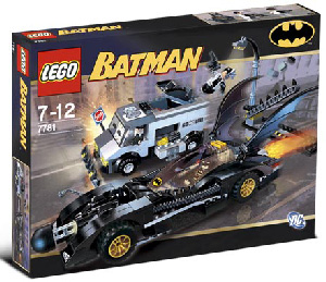 LEGO - Batman - Batmobile and Two-Face Escape[7781]