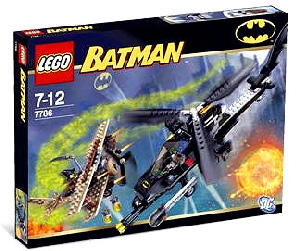 LEGO - Batman - Batcopter and Chase For The Scarecrow[7786]