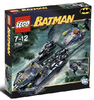 LEGO - Batman - Batboat and Hunt For Killer Croc - 7780