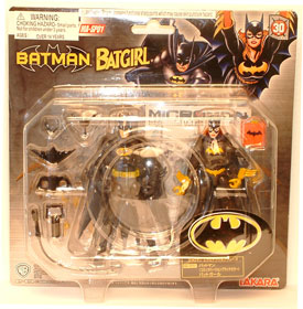 Microman Batman and Batgirl 2-Pack