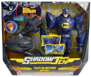 Shadow Tek - Twin Blaster Batman