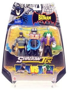 Shadow Tek - Batman Vs Joker 2-Pack