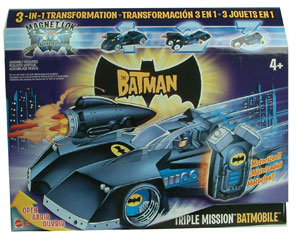 The Batman - Triple Mission Batmobile