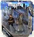 Batman Legacy - Batman Begins - Prototype Batsuit Batman and Lt Jim Gordon