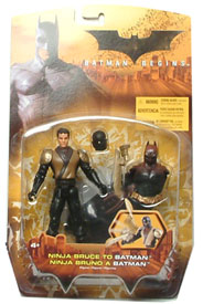 Ninja Bruce to Batman