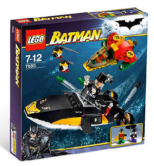 LEGO - Batman - Robin Scubba Jet, Attack Of The Penguin[7885]