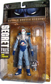 Mr. Freeze Secret Files