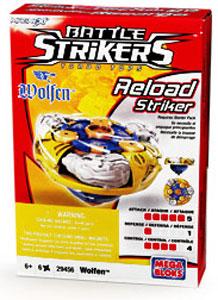 Battle Strikers - Reload Striker - Wolfen
