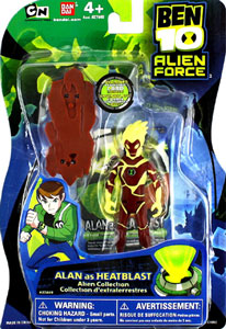 Alien Force - Alan as Heatblast