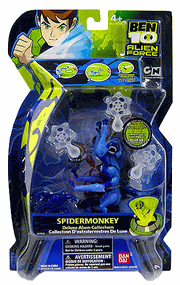 Alien Force - Deluxe Spider-Monkey