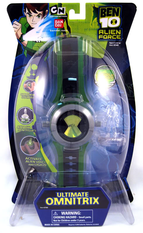Alien Force - Ultimate Omnitrix