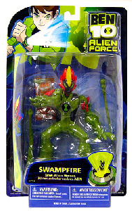 Alien Force - DNA Alien Heroes - 6-Inch Swampfire