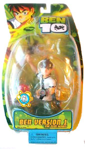 DNA Alien Heroes - 6-Inch Ben Version 1