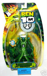 DNA Alien Heroes - 6-Inch Wildvine