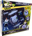 Ben 10 Ultimate Alien Vehicle - Plumber Space Ship with Grandpa