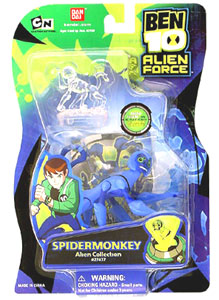 Alien Force - Spidermonkey