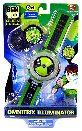 Alien Force - OMNITRIX ILLUMINATOR WATCH