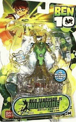 Ben 10 Battle Pose - Wildvine