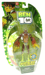 DNA Alien Heroes - 6-Inch Heatblast