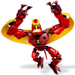 Ben 10 LEGO - Jet Ray
