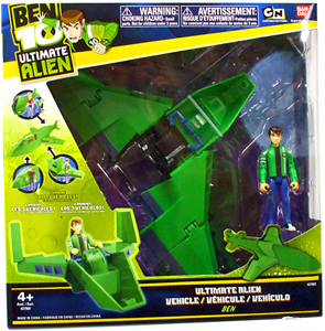 Ben 10 Ultimate Alien Vehicle - Wing Fighter with Ben