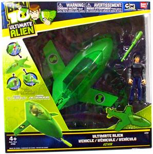 Ben 10 Ultimate Alien Vehicle - Rocket Pod with Kevin
