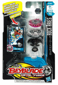 Beyblades Metal Fusion Battle Top - Rock Aries