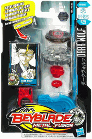 Beyblades Metal Fusion Battle Top - Dark Wolf