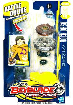 Beyblades Metal Fusion Battle Top - Rock Orso